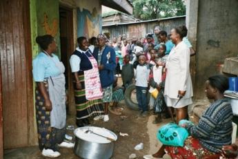 Mathare 4a settlement, Nairobi, Kenya